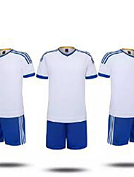 Football Maillot + Short/Maillot+Cuissard Respirable Eté Classique Polyester Football