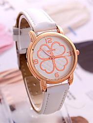 Mulheres Relógio de Moda Chinês Quartzo PU Banda Branco Azul Laranja