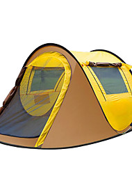2 Personas Tienda Solo Carpa para camping Una Habitación Tienda pop up Impermeable Portátil Resistente al Viento Resistente a la lluvia A