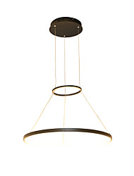 36W Modern Style Simplicity LED Pendant Light  Metal LED Ring Living Room Dining Room office Showroom light Fixture