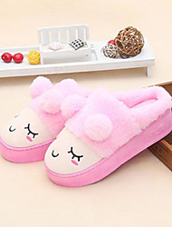 Women's Slippers & Flip-Flops Winter Comfort Sheepskin Casual Blushing Pink Red