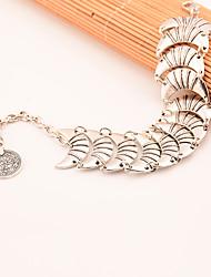 Femme Chaînes & Bracelets Bijoux Mode Alliage Lune Argent Bijoux Pour Soirée Occasion spéciale 1pc