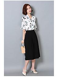 Women's Club Cute All Seasons Blouse,Solid V Neck Long Sleeve Silk Medium