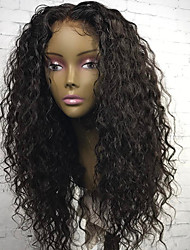 New Style Silk Top Lace Front Human Hair Wigs with Baby Hair 130% Density Brazilian Virgin Human Hair for Black Women Natural Hairline Shipping Free