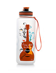 Cartoon Guitar and Saxophone Water Bottle 1500ml