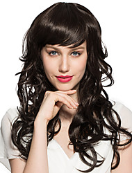 Black Wig Deep Wavy Synthetic Fiber Heat Wig Natural Wigs Wigs for Women Costume Wigs Cosplay Wigs