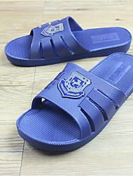 Masculino-Chinelos e flip-flops-Chanel-Rasteiro--Borracha-Casual