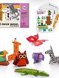 Jigsaw Puzzles 3D Puzzles Building Blocks DIY Toys Toys 1 Paper Model & Building Toy