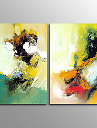 Canvas Print Abstract Modern,Two Panels Horizontal Print Wall Decor For Home Decoration