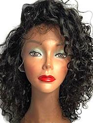 Parrucche vergini brasiliane brevi del merletto dei capelli umani di nuovo modo brevi parrucche dei capelli umani dei capelli umani