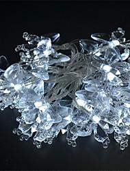 3W W Guirlandes Lumineuses lm <5V 4 m 40 diodes électroluminescentes Blanc Jaune Bleu Violet Plusieurs Couleurs