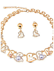 2016 Fashion Jewelry Set Pearl Earrings  Necklaces (Earrings Necklaces)