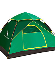 2 persons Tent Single Automatic Tent One Room Camping Tent Fiberglass Waterproof Ultraviolet Resistant Windproof Foldable-Hiking Camping-