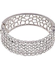 Mulheres Bracelete Amizade Moda Liga Forma Redonda Jóias Para Casamento Festa 1peça