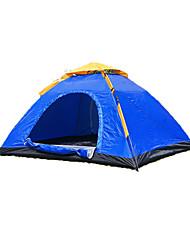 2 Personen Zelt Einzeln Automatisches Zelt Einzimmer Camping Zelt 2000-3000 mm Glasfaser OxfordFeuchtigkeitsundurchlässig Wasserdicht
