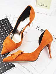 Feminino-Saltos-Sapatos clube-Salto Agulha--Flanelado-Casual