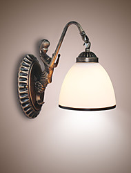 European Style Retro Living Room Bedroom Lamp Porch Wall Lamp Balcony Coffee Shop Wall Lamp