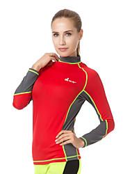 Sport Damen Herrn Dive Skins Atmungsaktiv Rasche Trocknung UV-resistant LYCRA® Taucheranzug Langärmelige Tauchanzüge-Tauchen Sommer Herbst