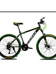 Mountain Bike Cycling 21 Speed 26 Inch/700CC SHIMANO TZ-30 Double Disc Brake Suspension Fork Aluminium Alloy Frame Aluminium Alloy