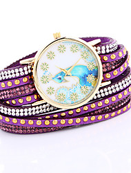 2017 Handmade Rope Bracelet Watches Women Knitted Colorful Quartz Shell Watch Casual Bracelet Woman Dress Charm Wristwatch