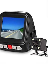 V9 Mini Car Front Rear DVR Camera - CARBON FIBER