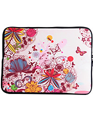 For MacBook Air / Pro / Retina 13 inch Universal Laptop Sleeves Oil Painting Flower Pattern Canvas Material