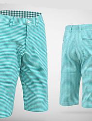Homens Sem Mangas Golfe Calças Respirável Confortável Laranja Azul Violeta Golfe Esportes Relaxantes