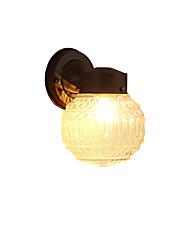 Moderno / preto contemporâneo acabamento de óxido para mini luz de parede styleambient luz luzes de parede