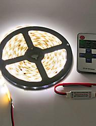 Z®zdm impermeável 5m 600x3528 smd levou tira luz e 11key rf controlador