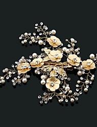 Головной убор сплава rhinestone перлы-свадьбы специальный случай напольные headbands 1 часть