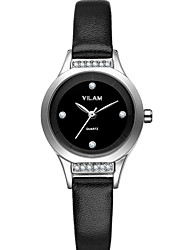 Vilam Women's Wrist watch Japanese Quartz Water Resistant Lady's Watches High quality Rhinestone Leather Band Girl watch relojes mujer montre femme