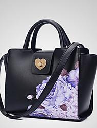 Senhoras de lazer e nova flor um ombro bolsa bolsa