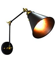 Yy ac220v-240v 4w e27 führte helles swalllicht geführtes Wandleuchterwand-Eisenwandlampe stummes schwarzes Lichtschwertlampe an Wand