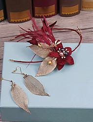 Liga de imitação de tecido de pérola cabeça-casamento ocasião especial casuais headbands ao ar livre 1 peça