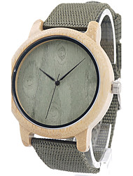 BOBO BIRD Men's Fashion Watch Wristwatch Unique Creative Cool Casual Nylon Band Vintage Luxury Watches Wood Watch