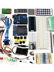 Uno r3 базовый стартовый учебный комплект обновленная версия для arduino