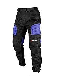 Cycling Pants Unisex Bike Bottoms Protective Terylene Oxford Sports Black Red Blue