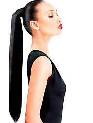 16inch Clip in High Ponytail Wrap Around -80gram 100% Real Human hair Extension Easy Wear