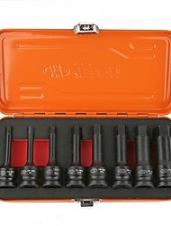 Huafeng big arrow® 8pcs / set hex-star socket bit set h6-h19