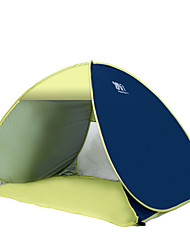 3-4 persons Tent Single Automatic Tent One Room Camping Tent Stainless Steel Portable-Camping Traveling