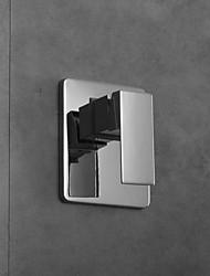 termostático de la temperatura valvewall de mezcla montado control de la válvula mezcladora de cromo válvula de ducha acabado