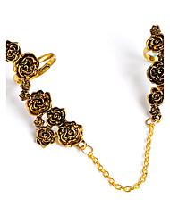 Couple Rings Ring Midi Rings Jewelry Basic Unique Design Flower Style Euramerican Handmade Vintage Punk Hip-Hop Rock British DIY Alloy
