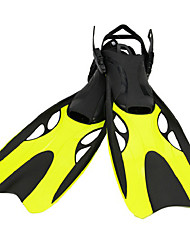 Diving Fins Adjustable Fit Diving / Snorkeling silicone