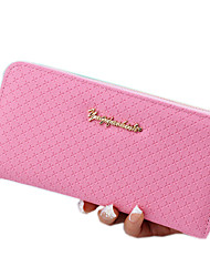 Women PU Polyester Formal Sports Casual Office & Career Shopping Outdoor Wallet All Seasons
