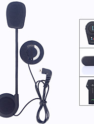 Freedconn Intercom Mini usd Earphone Microphone Motorcycle Helmet BT Intercom T-COM02 FDC-01VB T-COMVB TCOM-SC COLO-RC Helmet Headphone Accessories