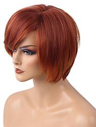 DIY Mixed Color   Short BOBO Hair   Human Hair Wig  Lovely    Woman hair