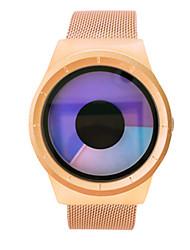 Masculino Relógio de Moda Relogio digital Chinês Quartzo Lega Banda Dourada Ouro Rose