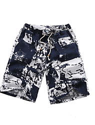 6 colors M-5XL Hot Sale Men's Mid Rise strenchy Chinos Shorts PantsSimple Loose Solid Print