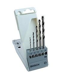Bosch 5 Sätze von hss-g 1/4 sechs Griff Spiralbohrer Satz Schleifen Metallbearbeitung Bohrer -2 / 3/4/5 / 6mm 2608595517 / Paket 2/3/4/5 /