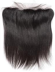 8inch fermeture frontale dentelle droite braizlian mieux vierges fermetures de cheveux humains brazilian fermeture libre / milieu / 3Part